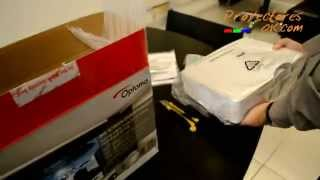 unboxing optoma hd26