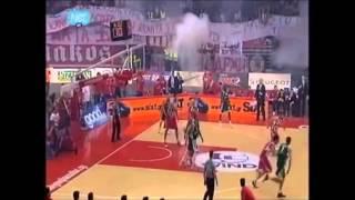 Greek Basketball Olympiakos vs Panathinaikos WELCOME TO HELL