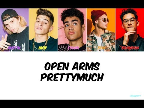 PRETTYMUCH Open Arms Lyrics
