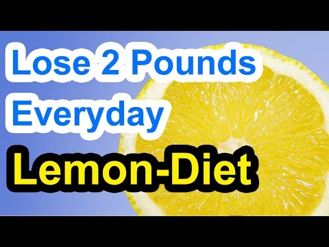 How to Lose 2 Pounds a Day with the Lemon Diet