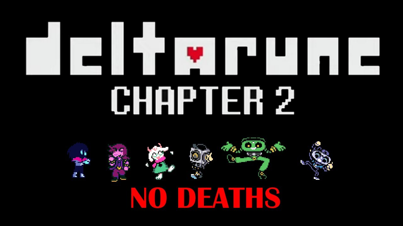 Download Deltarune Chapter 2 Pacifist FULL Playthrough! (NO DEATHS) (NO COMMENTARY)