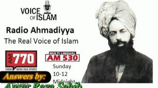 How will Ahmadiyya Muslims answer Munkir Nakeer in grave about prophet's question.