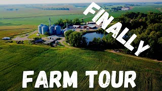 The wait is over it is now time for a tour of our family grain farm