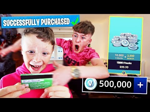 Kid Spends £500 On FORTNITE With Brother's Credit Card... [MUST WATCH]