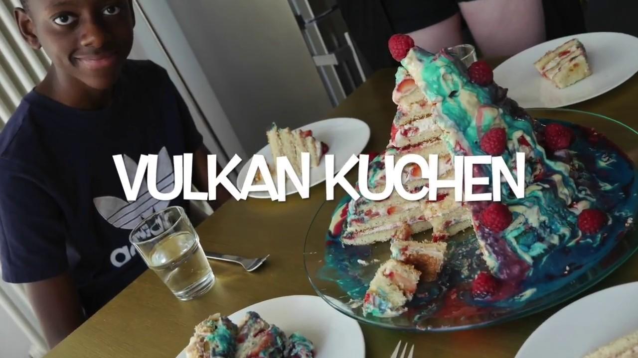 Vulkan Torte Mit Kindern Machen Ganz Ohne Backen Youtube