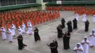 "NEW-Inmates at CPDRC, Cebu, dance to ""I Will Follow Him"", 08/30/08"