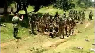 how the bangladesh army personnel are training on camouflage and concealment