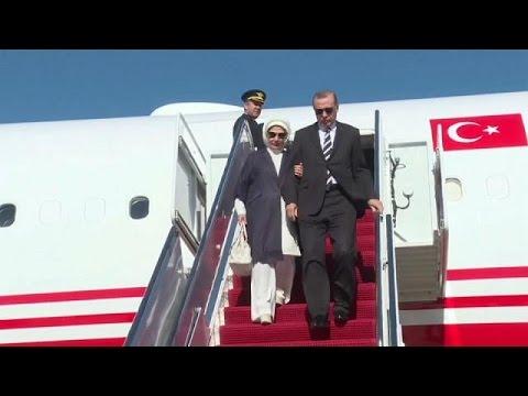 US-Präsident Trump empfängt Erdogan in Washington