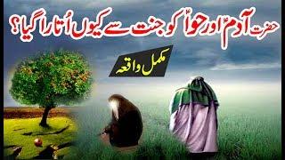 Hazrat Adam AS Aur Bibi Hawa AS Ko Jannat Se Q Utara Gaya - Story of Prophet Adam & Eve in Urdu