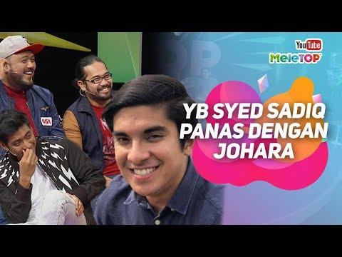 Cover Lagu YB Syed Saddiq PANAS dengan Johara Pagi ERA Johan, Haniff, Ray | MeleTOP | Nabil Neelofa HITSLAGU