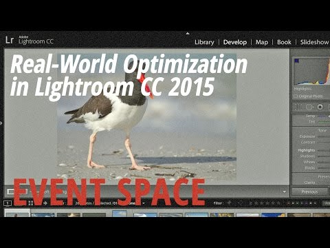 Real-World Optimization in Lightroom CC 2015 with Tim Grey