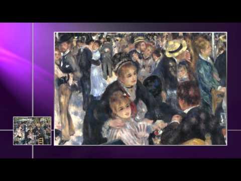 PIERRE AUGUSTE RENOIR - Baile en el Moulin de la Gallete (Obras Maestras de la Pintura Universal)