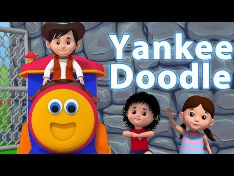 Bob trem Yankee Doodle Canção | rimas para crianças | patriótica Canção