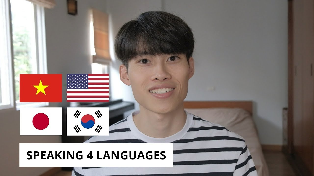 Mình nói 4 thứ tiếng | Speaking 4 Languages [Engsub]