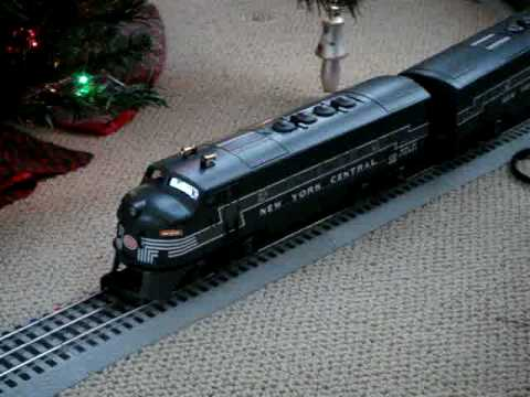 Lionel Train Under Christmas Tree   YouTube