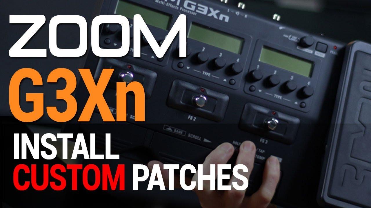 zoom g3xn patch list