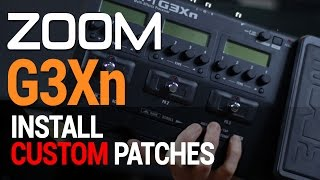 Gambar cover Zoom G3Xn, how to download and install patches [ITA] [ENG sub] -by Vince Carpentieri