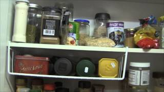 What's in my FRIDGE & PANTRY - Atkins Diet - BINGE FREE Kitchen Tour