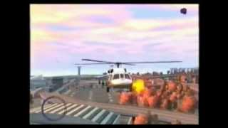GTA 4 CRAZY HELICOPTER DEMO DERBY with evil hawking