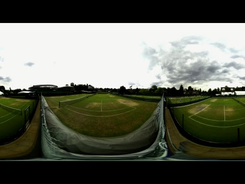 REPLAY: Live practice in 360° at Wimbledon 2017 - Day 10