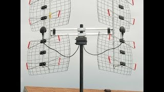 DB8e Extreme Long Range Bowtie HDTV Antenna - Assembly and Installation