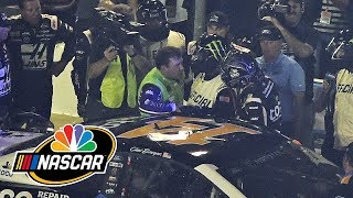Clint Bowyer throws flurry of punches at Ryan Newman at NASCAR All-Star Race | Motorsports on NBC