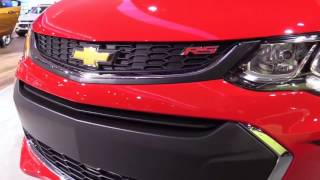 2017 Chevrolet Sonic RS Turbo Special Luxury Features | Exterior and Interior | First Impression HD