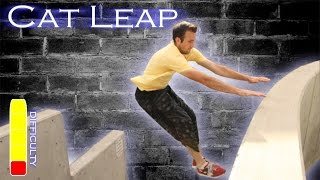 How To CAT LEAP/ARM JUMP - Parkour Tutorial