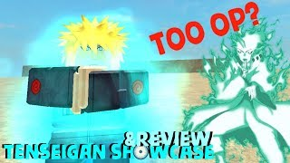 Roblox Nindo Hand Sal Revolution TENSEIGAN SHOWCASE/REVIEW TOO OP?