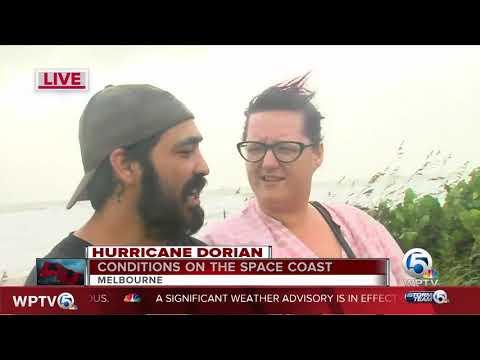 Melbourne, Florida, impacted by Hurricane Dorian