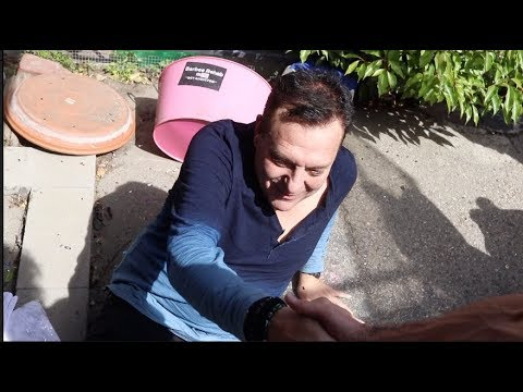Tom Sizemore Falling Off Chair Laughing