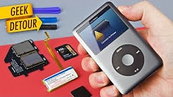 "How to replace iPod battery & SD Card upgrade: 160GB iPod Classic with ""SSD"" in 2018"