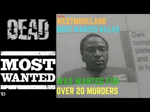 Westmoreland's MOST WANTED man 'Saddam' Killed by the Police
