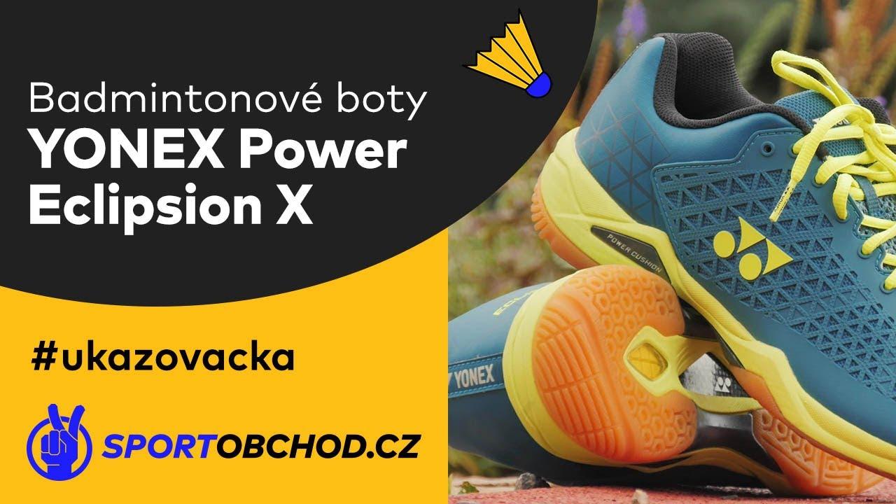 Yonex Power Cushion ECLIPSION X Men Turquoise//Yellow