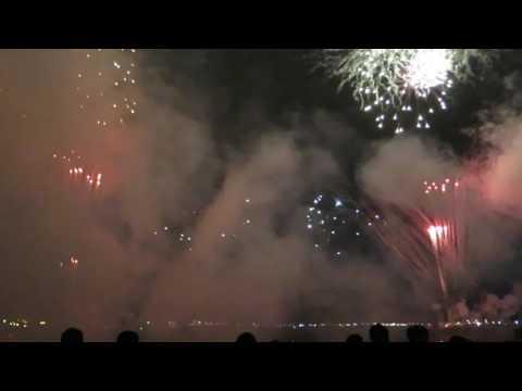 Hakodate Port Fireworks, 17th July 2016