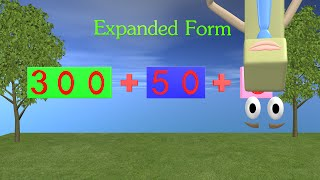 Expanded Form Video - 1st and 2nd Grade Math thumbnail