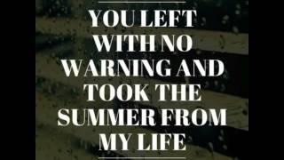 Rain-the script lyrics