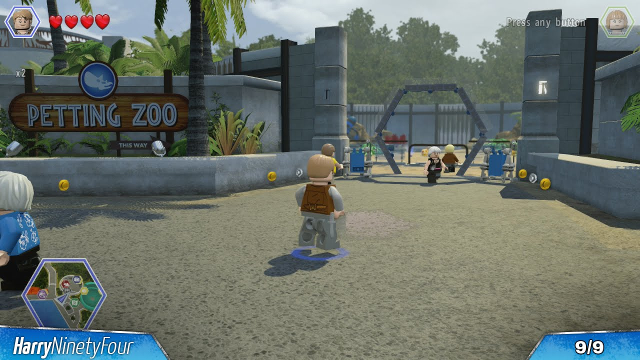 Lego jurassic world all map point kiosk locations jurassic lego jurassic world all map point kiosk locations jurassic world hub youtube gumiabroncs Gallery