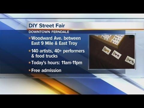 2016 DIY Street Fair in Downtown Ferndale