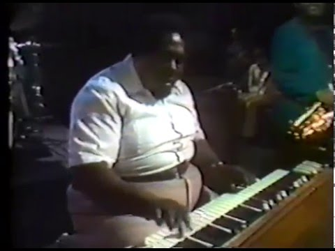 "Richard ""Groove"" Holmes, LIVE! in concert, rare video, Spain 1980"
