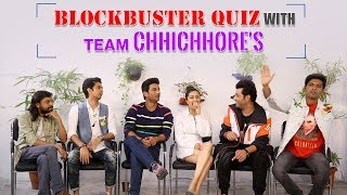 ROFL - QUIZ TIME with Chhichhore Team | How Well Does Team Chhichhore Know College Based Films?