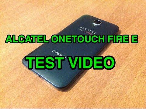 Alcatel OneTouch Fire E - test video