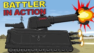"""Battler in Action"" - Cartoons about tanks"