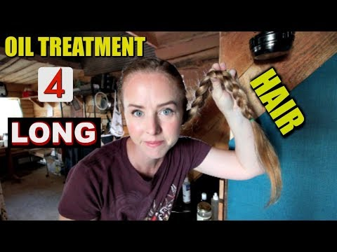 Oil Treatments for FAST  LONG HAIR GROWTH