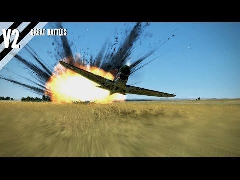 IL-2 Great Battles Crashes V2