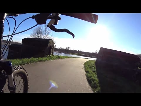 Hoog water!! Prachtig rondje Zwolle langs het Zwarte Water en de Vecht