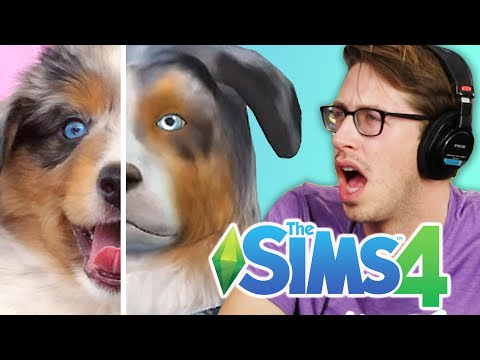 Keith Controls His Friends' Pets In The Sims 4 Cats & Dogs
