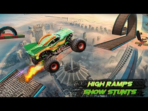Impossible Monster Stunts Game | Android Gameplay FHD - Free Games Download - Racing Games Download