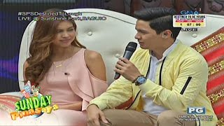 Sunday PinaSaya: Maine Mendoza at Alden Richards nasa hot seat!