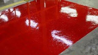 Paint a protective gloss floor coating | Rizistal